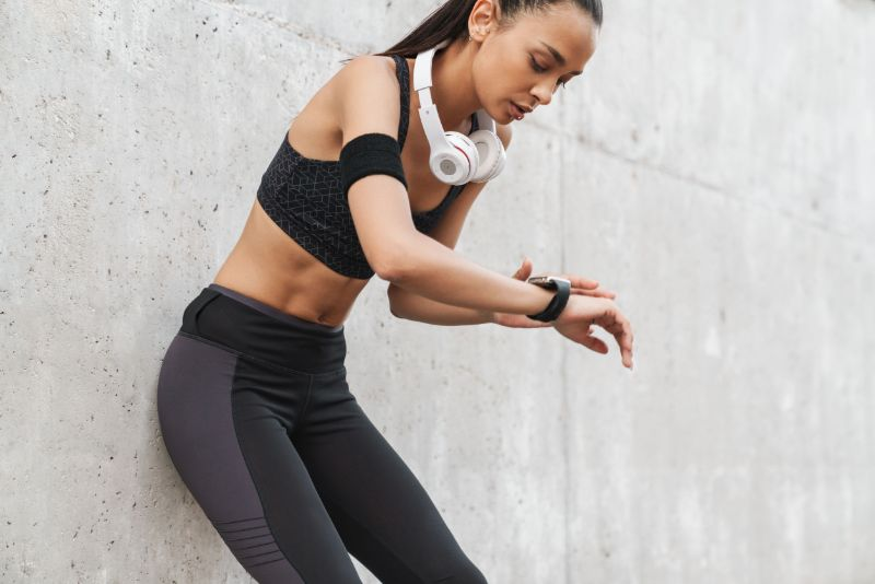 Attractive Athletic Woman